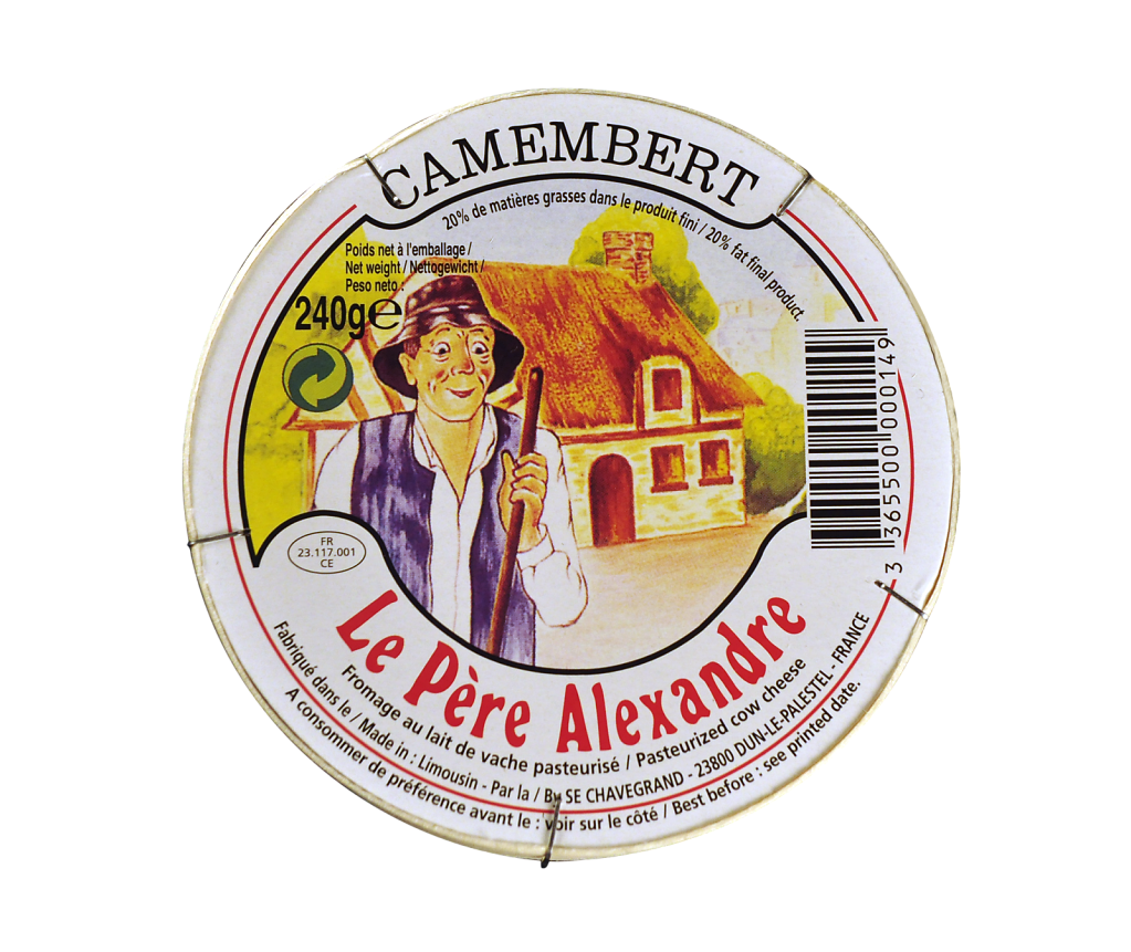 Le père Alexandre  - Camembert - 240g